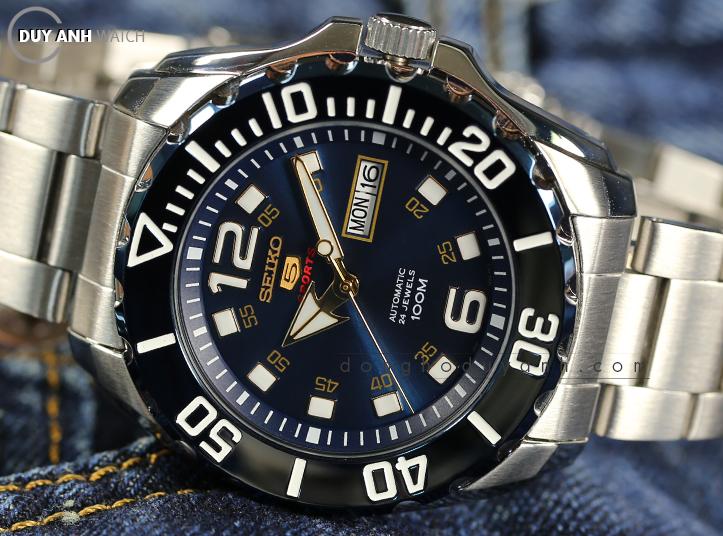 [Review - Đánh Giá] Seiko 5 Sport – Biển xanh sâu thẳm